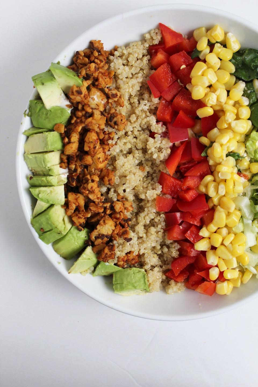 Vegan Tempeh Taco Bowls