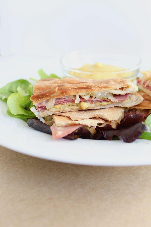Corned Beef Sandwich Recipe with Swiss Cheese