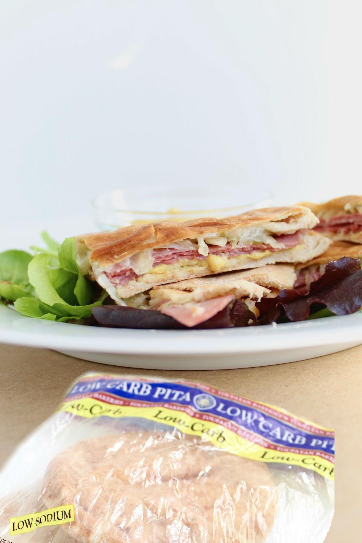 Corned Beef Sandwich on Pita Bread