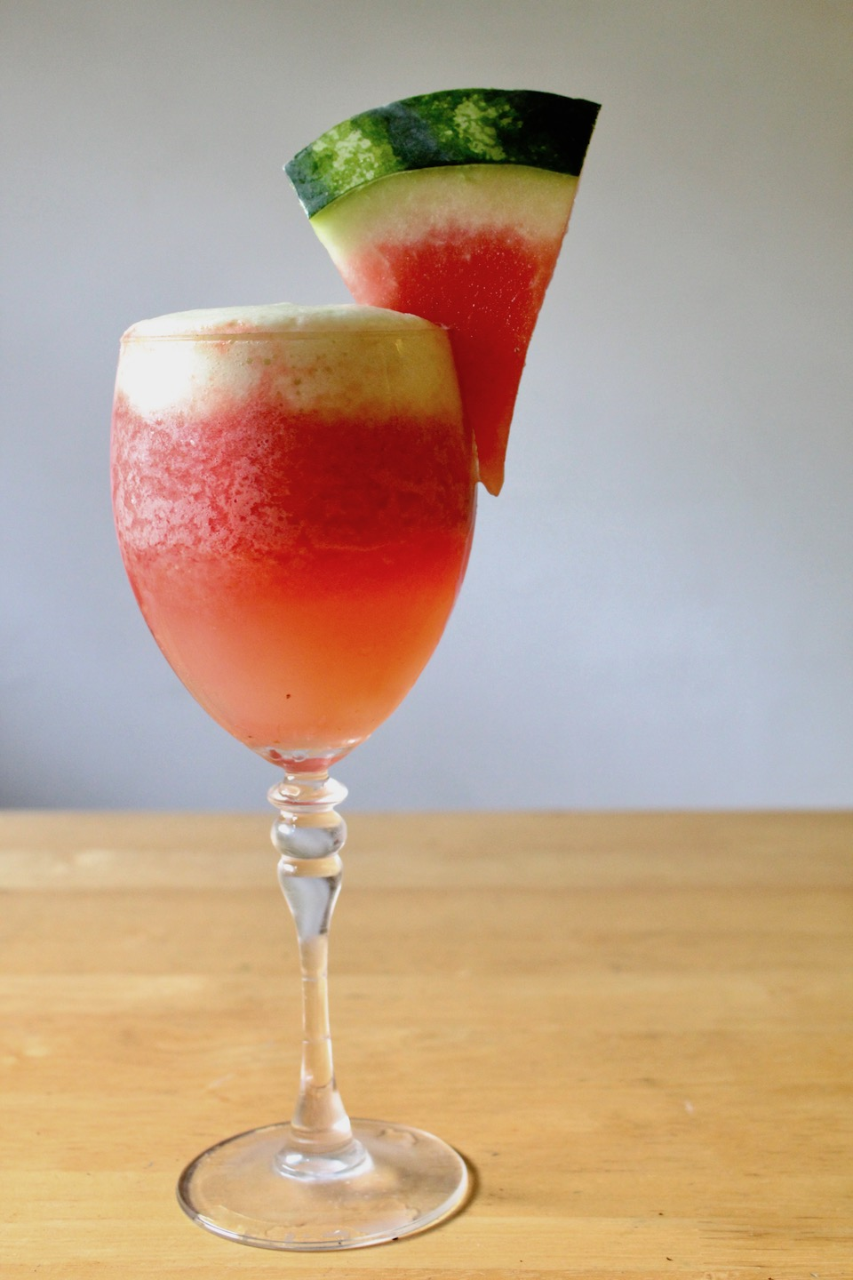 Watermelon Frosé (Frozen Rosé) Cocktail