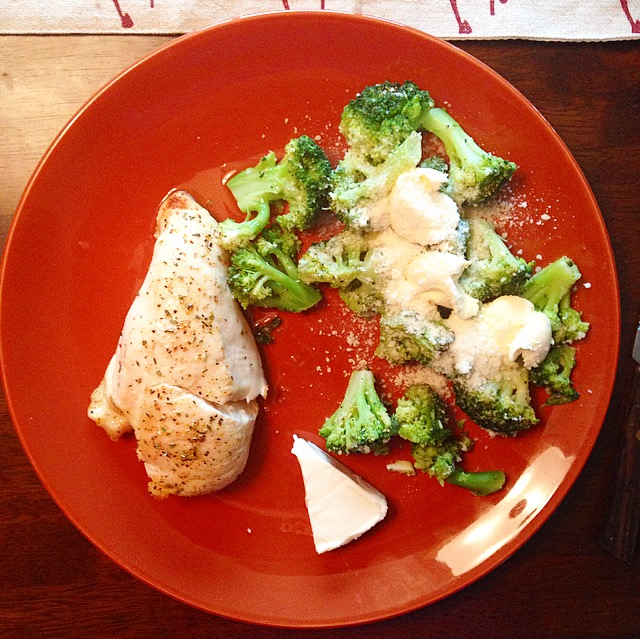 Parm Broccoli and Chicken