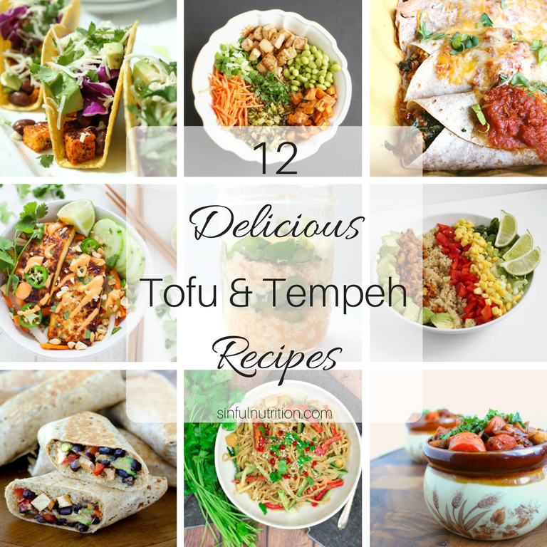 12 Delicious Tofu & Tempeh Recipes Even Meat-Eaters Will Love