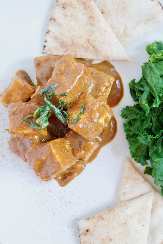 Vegetarian Tofu Paprikash {Vegan, GF}