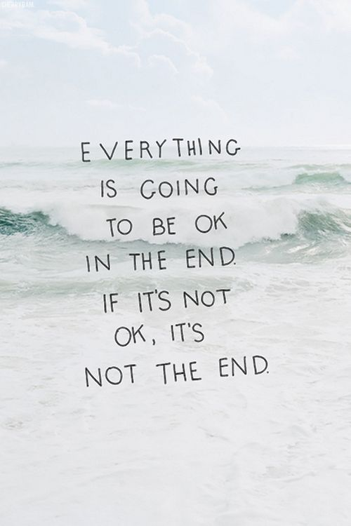Everything's going to be okay quote