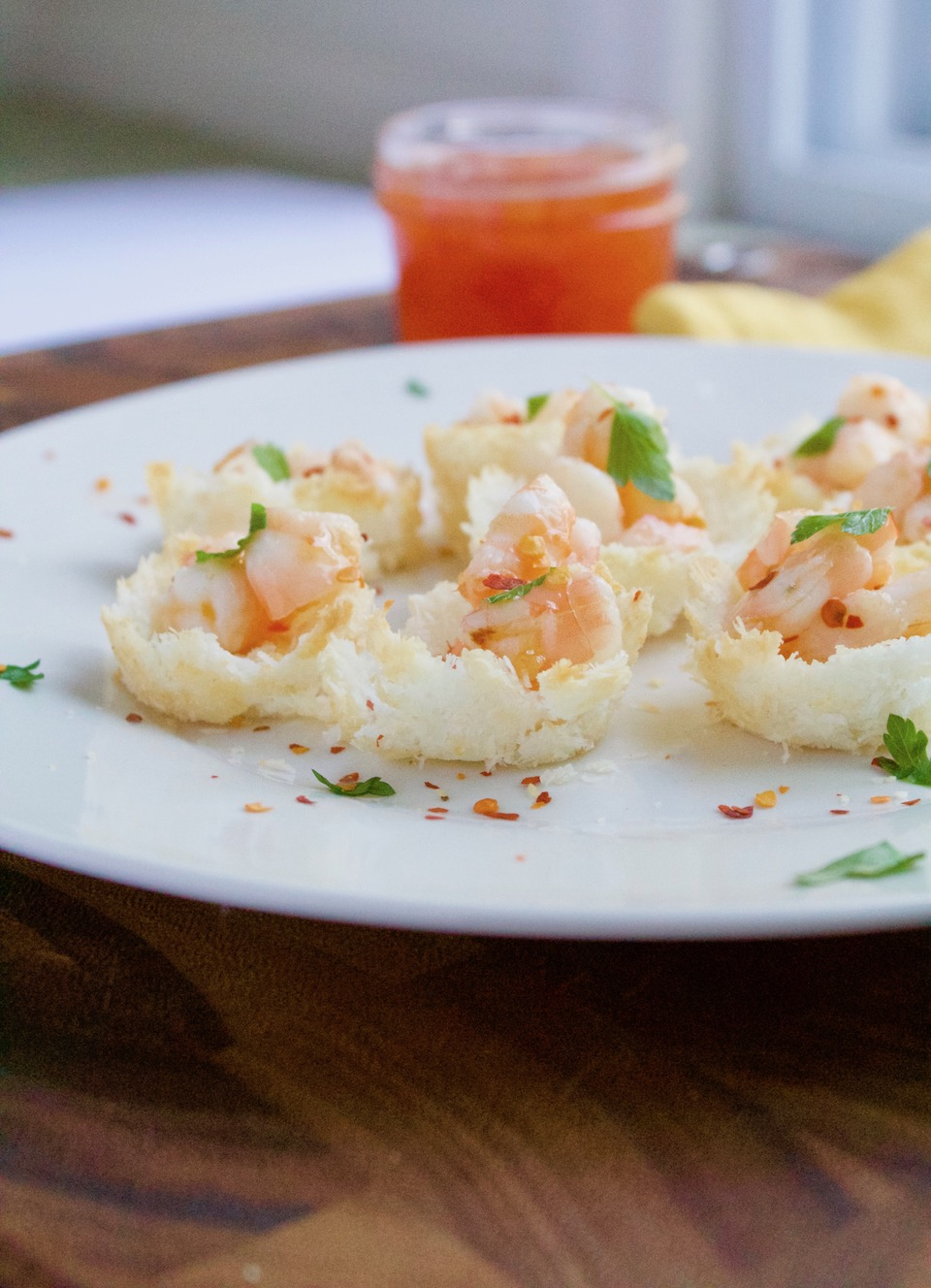 Baked Coconut Shrimp Cups