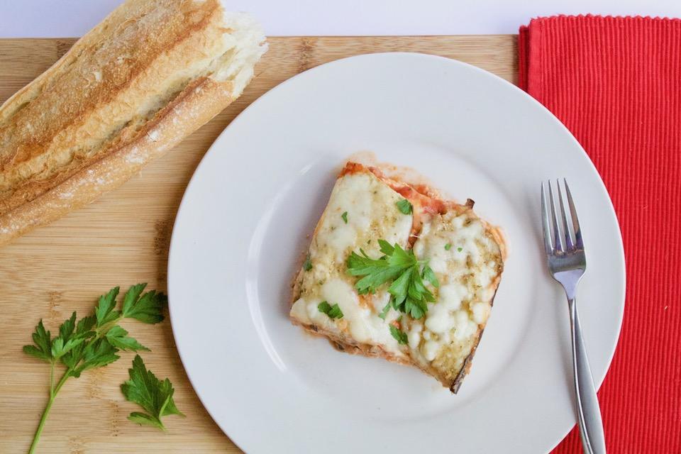 Low-Carb Eggplant Parm Lasagna