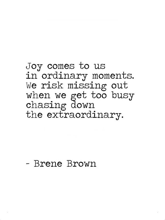 Brene Brown Quote Joy