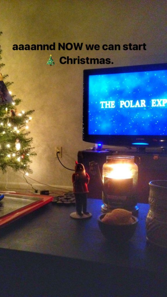 Christmas Tree and Polar Express