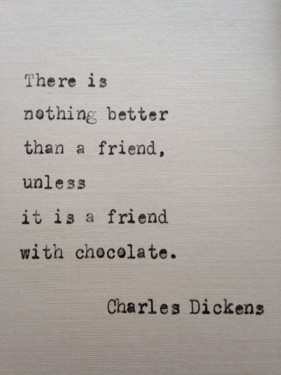 Charles Dickens Friend Quote