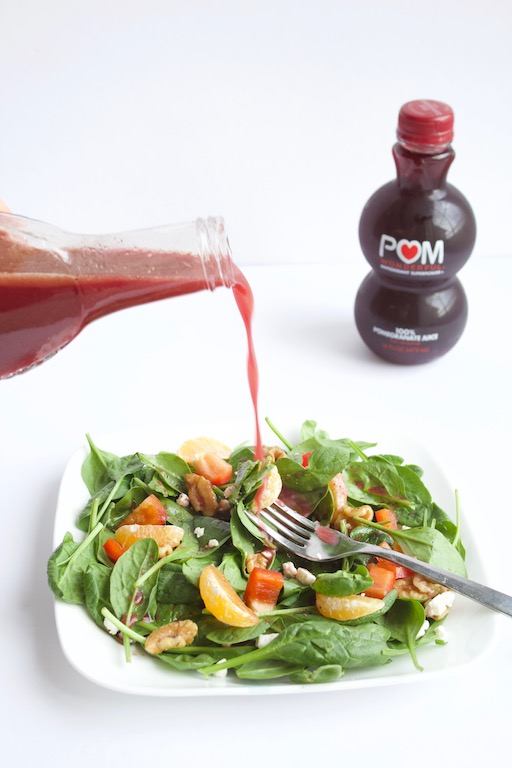 Homemade Pomegranate Cider Vinaigrette [VIDEO]