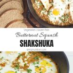 Butternut Squash Shakshuka Recipe Collage with Text Overlay