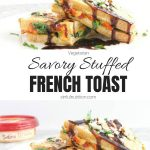Savory French Toast Recipe Collage with Text