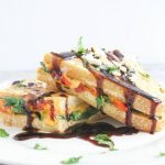 Savory French Toast Recipe with Text