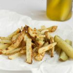 Dill Pickle Baked French Fries Recipe Pin