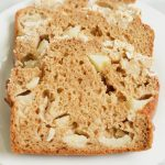 Easy apple bread recipe sliced