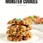 Healthy Monster Cookies with Text