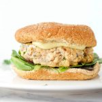 Easy Salmon Burger Recipe on Bun