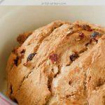 Homemade Cinnamon Raisin Bread Recipe with Text