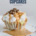 Ice Cream Cupcakes Recipe with Text