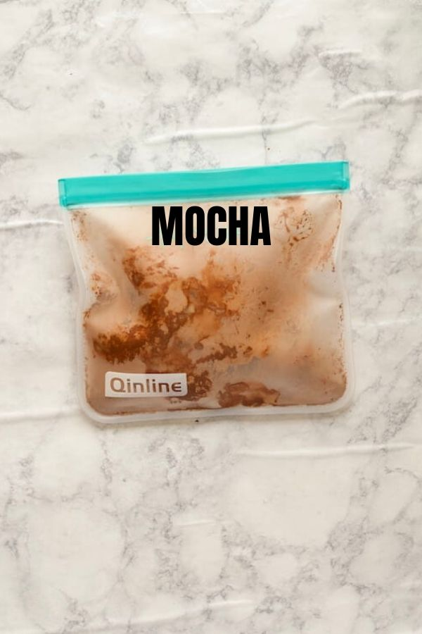 Mocha Frozen Smoothie Pack with Text