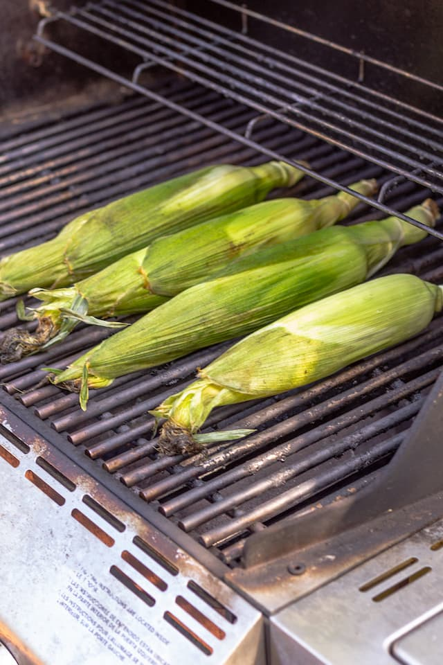 How to Grill Corn in the Husk on Grill